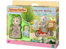 Sylvanian Families Bicajozás anyával szett
