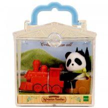 Sylvanian Families Panda játékvonattal