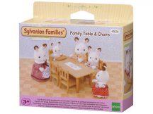 Sylvanian Families Étkező asztal székekkel