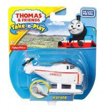 Fisher-Price Thomas Take-n-Play egyes mozdony kicsi - HAROLD