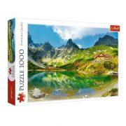 Trefl 10606 Premium Quality puzzle - Zöld-tavi menedékház (1000 db)