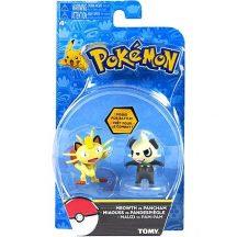Pokémon harcos figurák - MEOWTH vs. PANCHAM