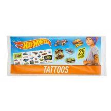 25 db-os mini tetoválás - HOT WHEELS