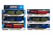 Teamsterz City Mozdony + szerelvény_Zöld szénszállító