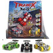 Trixx 360 egyenes rámpa 3 db autóval (többféle)