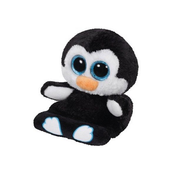 Peek-a-Boos PENNI - pingvines telefontartó plüss figura