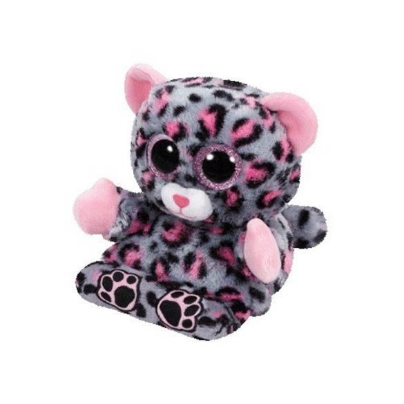 Peek-a-Boos Trixi - leopárdos telefontartó plüss figura