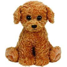 Beanie Classic LUKE - barna kutya plüss figura 33 cm