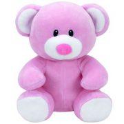 Baby Ty Princess - rózsaszín maci plüss figura (15 cm)