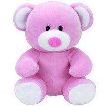 Baby Ty PRINCESS - rózsaszín maci plüss figura 15 cm