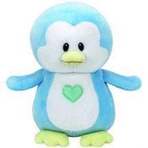 Baby Ty TWINKLES - kék pingvin plüss figura 15 cm