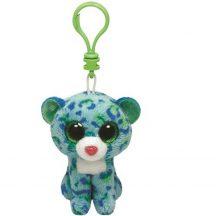 Beanie Boos Clip LEONA - zöld párduc plüss figura 8,5 cm