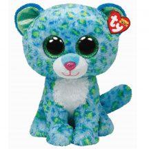 Beanie Boos LEONA - kék leopárd plüss figura 24 cm