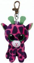 Beanie Boos Clip GILBERT - rózsaszín zsiráf plüss figura 8,5 cm