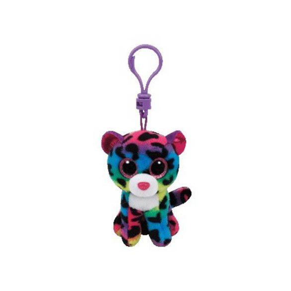 Beanie Boos Clip DOTTY - sokszínű leopárd plüss figura 8,5 cm