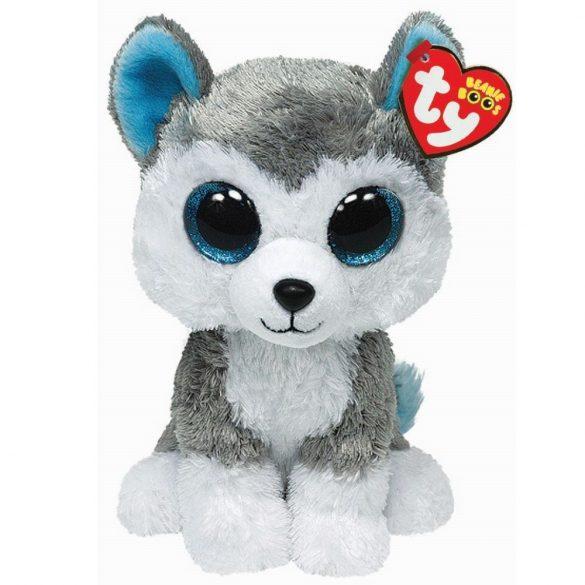 Beanie Boos SLUSH - husky plüss figura 15 cm