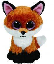 Beanie Boos SLICK - barna róka plüss figura 15 cm