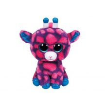 Beanie Boos SKY HIGH - rózsaszín zsiráf plüss figura 15 cm