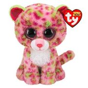 Beanie Boos Lainey - rózsaszín leopárd plüss figura (15 cm)