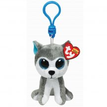 Beanie Boos Clip SLUSH  - husky plüss figura 8,5 cm