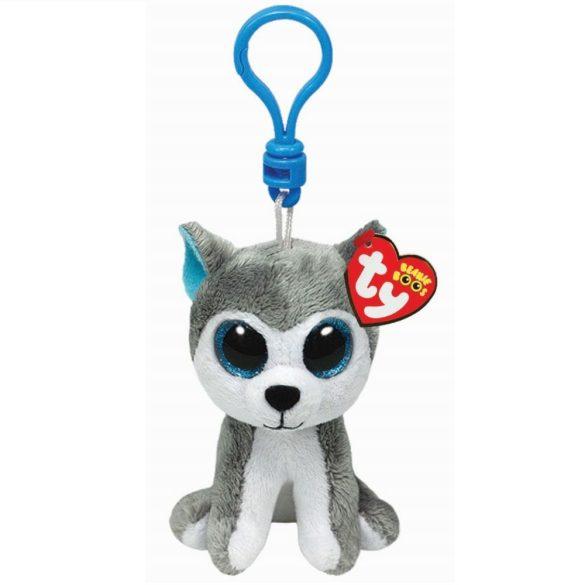 Beanie Boos Clip Slush - husky plüss figura (8,5 cm)