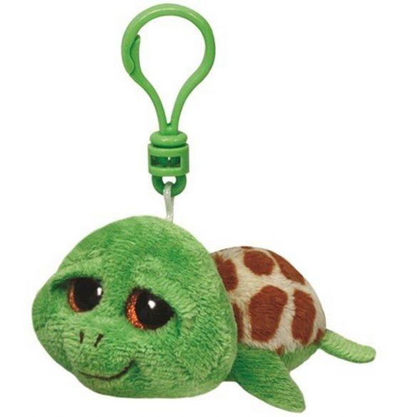 Beanie Boos Clip Zippy - zöld teknős plüss figura (8,5 cm)
