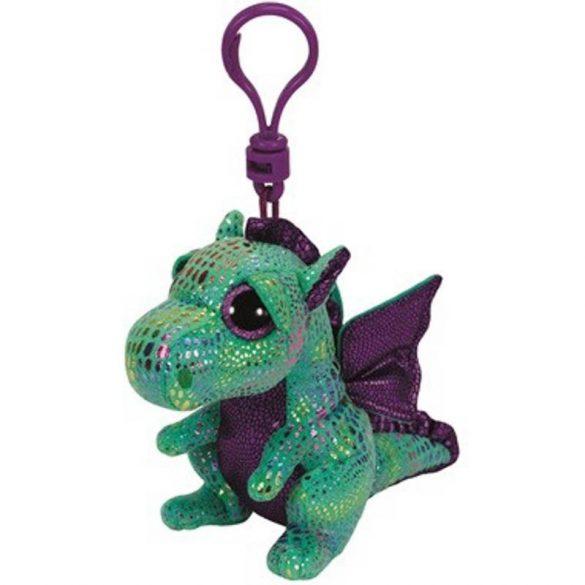 Beanie Boos Clip CINDER - zöld sárkány plüss figura 8,5 cm