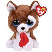 Beanie Boos Smootches - kutya plüss figura szívvel (15 cm)