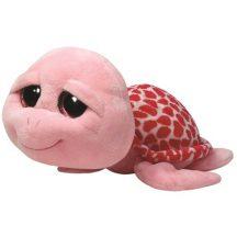 Beanie Boos SHELLBY - rózsaszín teknős plüss figura 42 cm