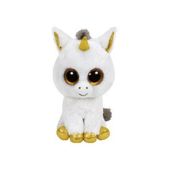 Beanie Boos PEGASUS - fehér unikornis plüss figura 24 cm