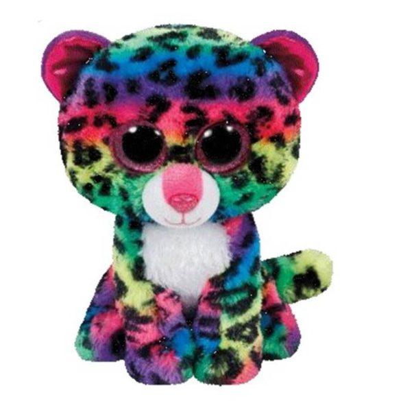 Beanie Boos Dotty - színes leopárd plüss figura (42 cm)