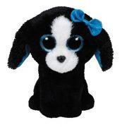 Beanie Boos Tracey - fekete-fehér kutya plüss figura (42 cm)