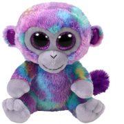 Beanie Boos Zuri - színes majom plüss figura (15 cm)