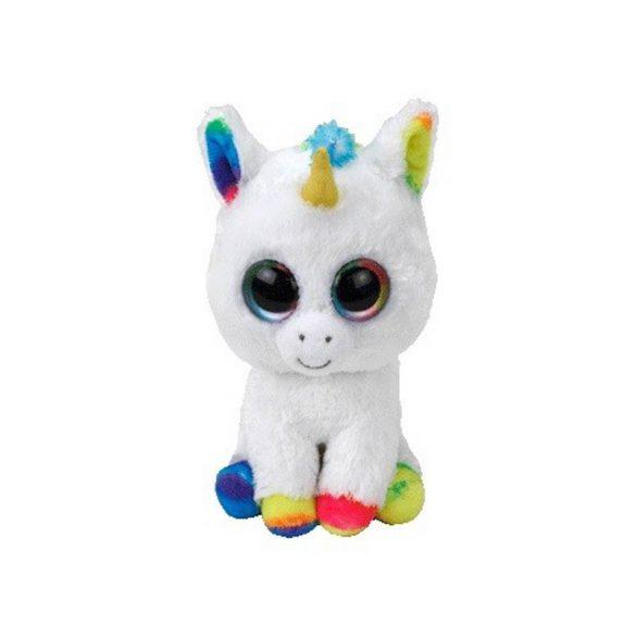 Beanie Boos PIXY - fehér unikornis plüss figura 15 cm