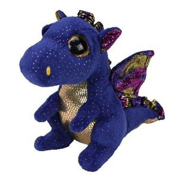 Beanie Boos Saffire - sárkány plüss figura (15 cm)