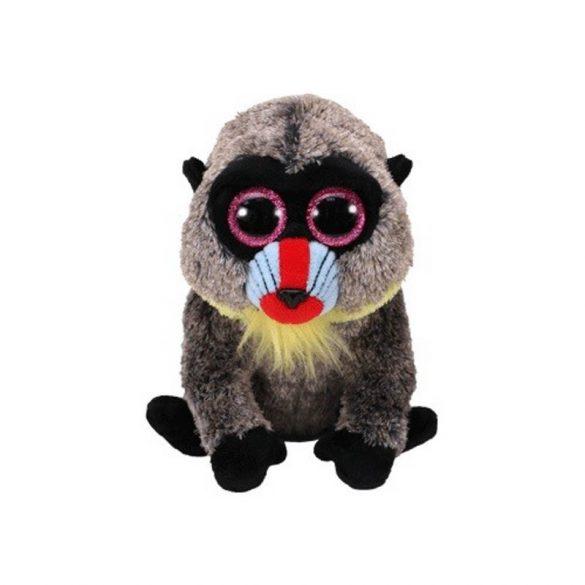 Beanie Boos WASABI - pávián plüss figura 15 cm