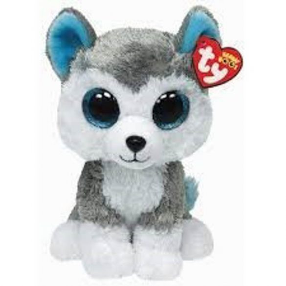 Beanie Boos SLUSH - husky plüss figura 24 cm