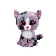 Beanie Boos LINDI - rózsaszín macska plüss figura 24 cm