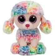 Beanie Boos RAINBOW - színes pudli plüss figura 24 cm