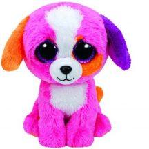 Beanie Boos PRECIOUS - rózsaszín kutya plüss figura 15 cm