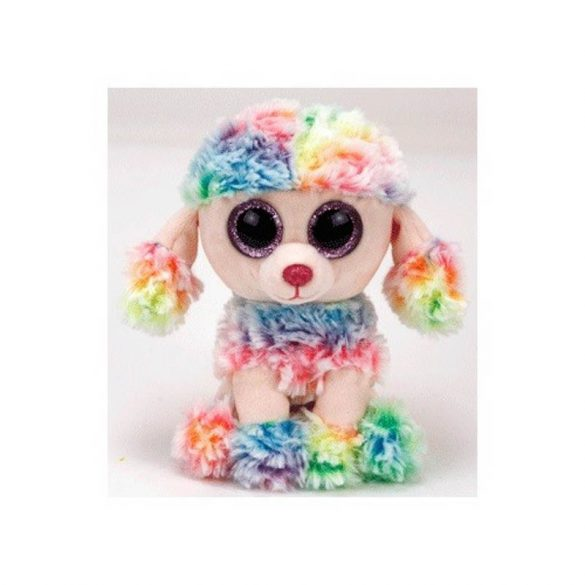 Beanie Boos RAINBOW - színes pudli plüss figura 15 cm
