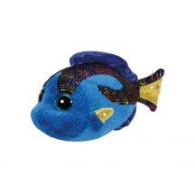 Beanie Babies AQUA - kék hal plüss figura 15 cm
