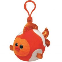 Beanie Ballz Clip BUBBLES - narancs hal plüss figura 8,5 cm