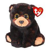 Beanie Babies Kodi - fekete medve plüss figura (15 cm)