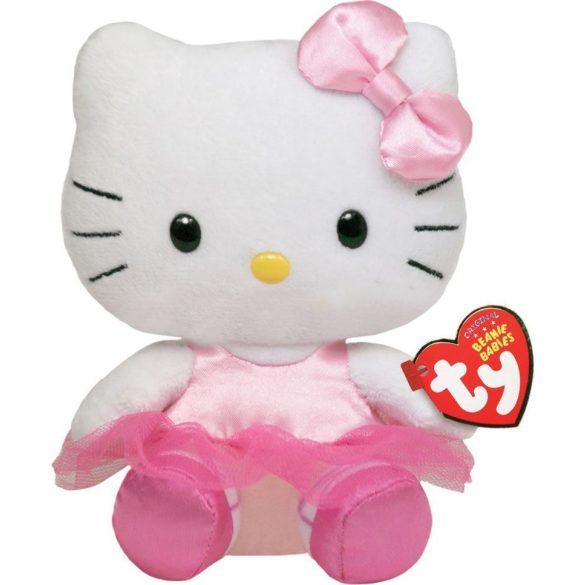 Beanie Babies HELLO KITTY - balerina plüss figura 15 cm