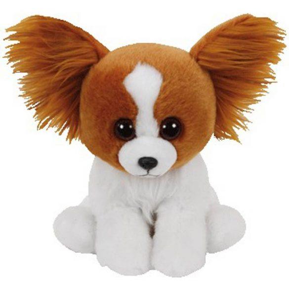 Beanie Babies Barks - barna kutya plüss figura (15 cm)