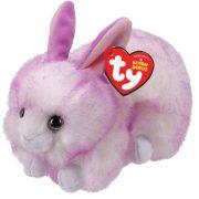 Beanie Babies Ryley - lila nyuszi plüss figura (15 cm)
