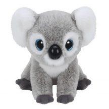 Beanie Babies KOOKOO - szürke koala plüss figura 15 cm