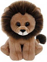 Beanie Babies CECIL - oroszlán plüss figura 15 cm