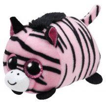 Teeny Tys PENNIE - rózsaszín zebra plüss figura 10 cm